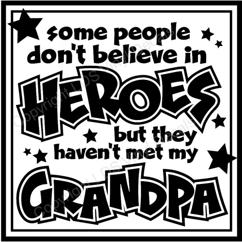 Grandpa Quotes: Grandma And Grandpa Vinyl Wall Art