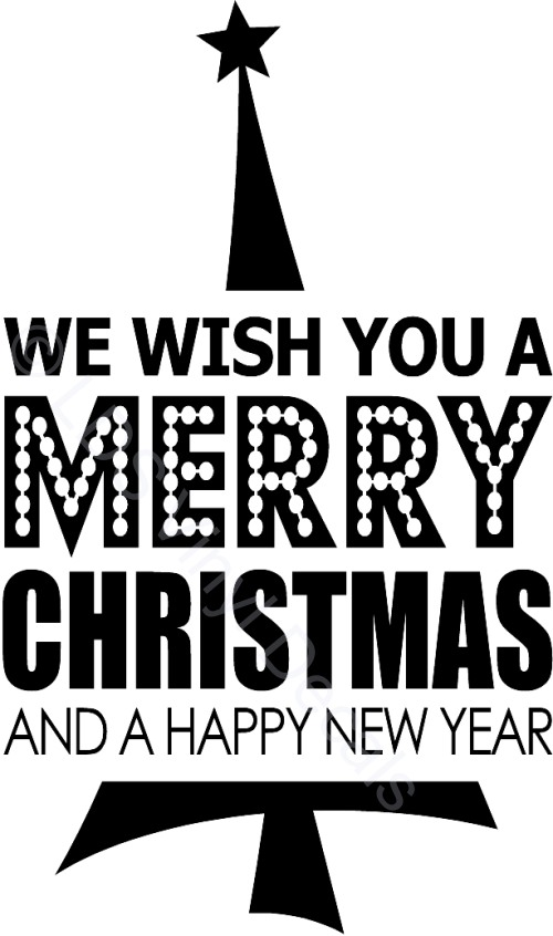 Image result for we wish you a merry christmas and a happy new year