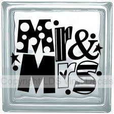 Vinyl Decals For Glass Blocks Vinyl Words And Lettering LDS - Vinyl decals for glass blocks uk