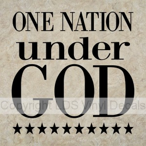 one nation under god There is perhaps no more personal issue than religion, and there are few things that americans will defend more passionately than their right to believe as they choose.