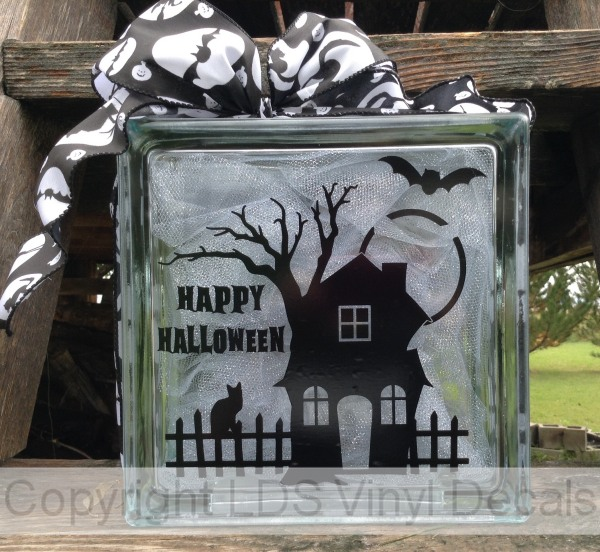 Happy Halloween With Haunted House Fall And Halloween