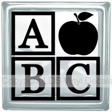 A B C (with Apple) - Click Image to Close