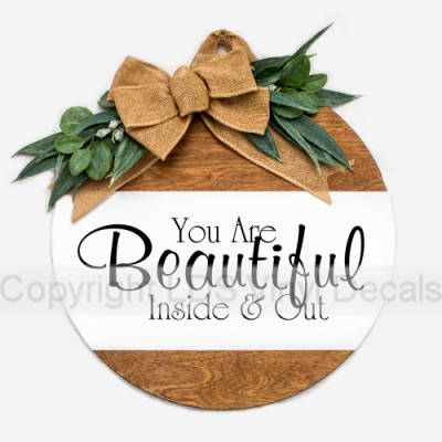 You Are Beautiful Inside Out