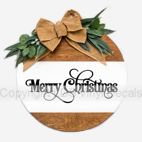 Christmas Vinyl Decals.Merry Christmas Christmas Vinyl Wall Art Holiday Vinyl